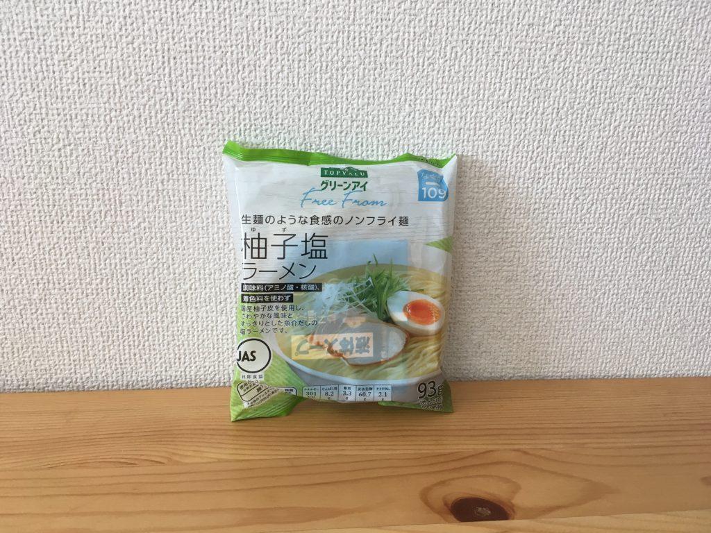 トップバリュー ノンフライ麺
