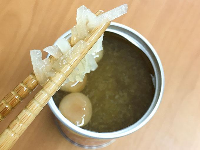 レスキューフーズ 味噌汁