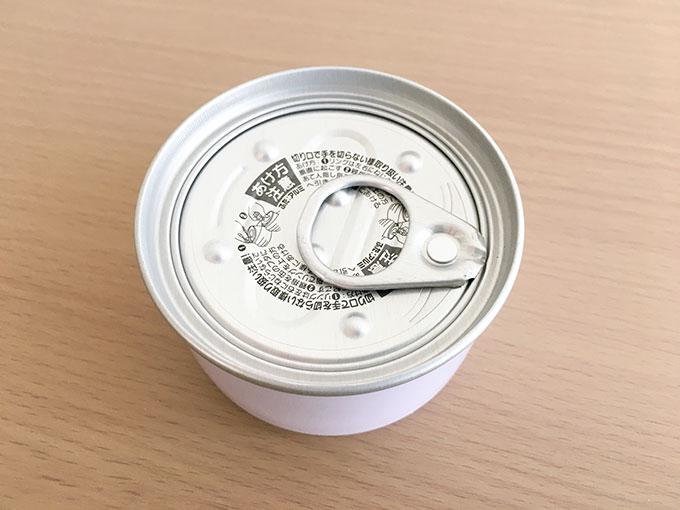 チーズケーキ缶の蓋