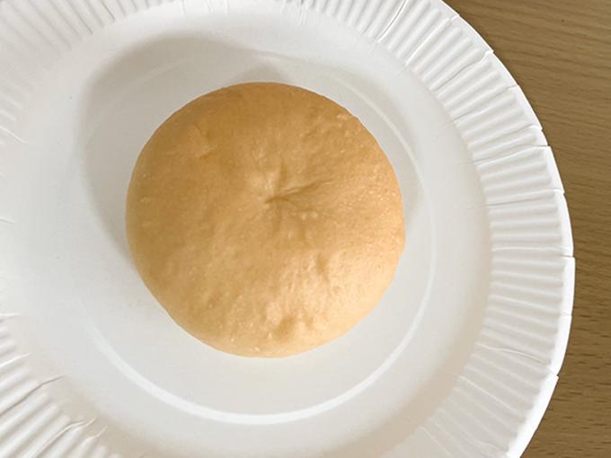 おにしの米粉パンを袋から出したところ
