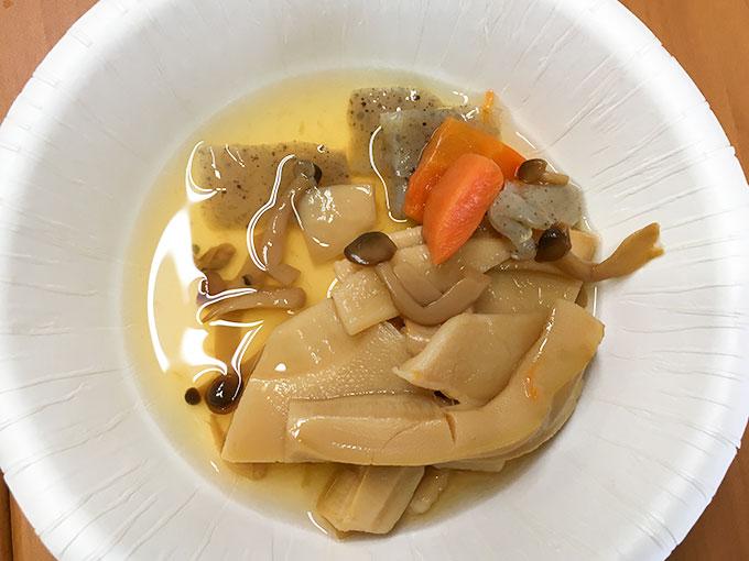 ウチパク竹の子と野菜の炊き合わせ