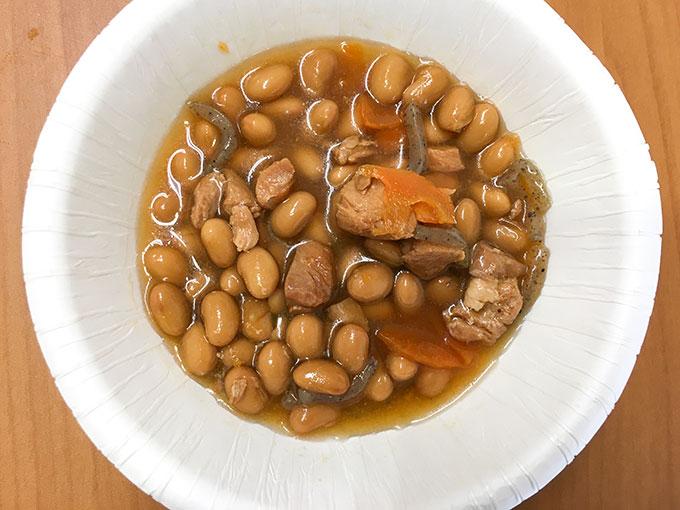 ウチパク鶏と大豆の旨煮